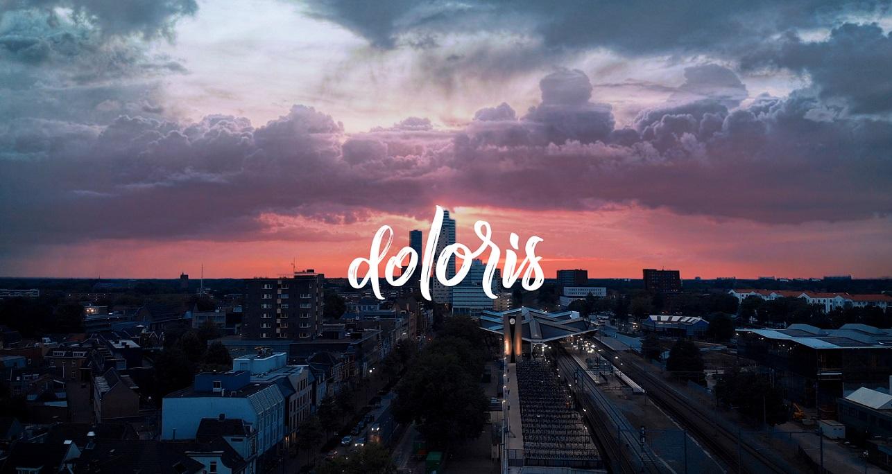 Logo Doloris met skyline Tilburg