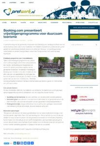 thumbnail of Pretwerk – booking presenteert vrijwilligersprogramma voor duurzaam toerisme