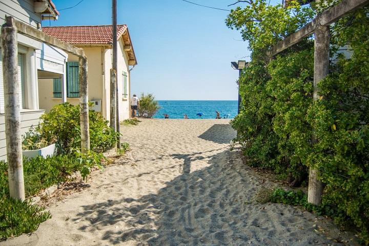 Het strand van Racou